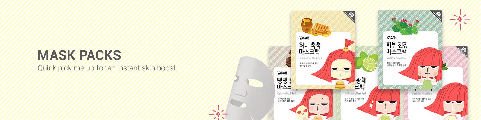 Yadah Mask Packs
