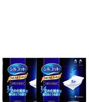 [TwinPack] Silcot Uru Uru Puff 40 pads