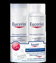 Eucerin Dermato Clean Milk & Toner Set