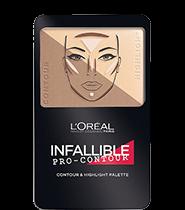L'Oreal Make Up Designer Infallible Pro-Contour Palette 7g [3 Colors To Choose]