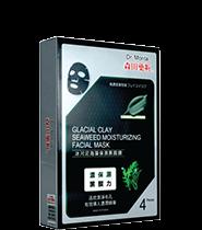 Dr. Morita Glacial Clay Seaweed Moist Facial Mask 4pcs/box