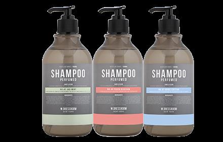w dressroom perfumed hair shampoo 500ml 3 types to choose hermo