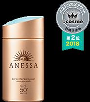 Anessa Perfect UV Sunscreen Milk (Gold) 60ml