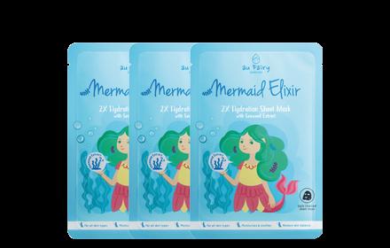 Au Fairy Mermaid Elixir Deep Moisturizing Mask