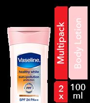 Vaseline Healthy White Body Lotion Insta Fair 190ml - Hermo Online Beauty Shop Malaysia