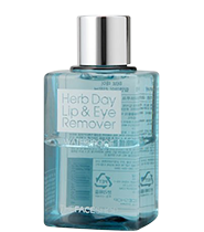 The Face Shop Herbday Lip & Eye Make Up Remover Waterproof 130ml