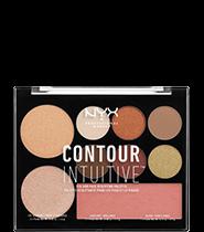 NYX Professional Makeup Contour Intuitive Palette [4 Colors To Choose]