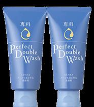 [Twin Pack] Senka Perfect Double Wash 120g