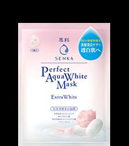 [New Version] Senka Perfect Aqua White Mask 7ml [#Extra White]