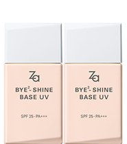 [Twin Pack] Za Bye Bye Shine Base UV SPF25 PA+++ 25ml