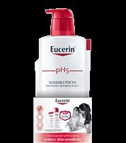 Eucerin pH5 Wash Lotion 1L + pH5 Wash Lotion 400ml (Refill)
