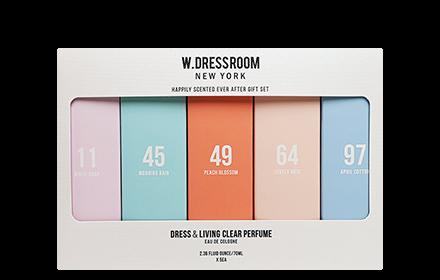 [Christmas Set 2018] W.Dressroom Dress & Living Clear Perfume 70ml x 5 | Hermo Online Beauty Shop Malaysia