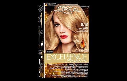 L'Oreal Excellence Fashion Hair Colour - Fashion 9.13 Golden Beige Blonde