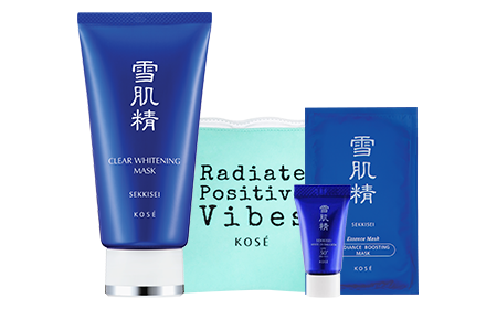 Kose Sekkisei Clear Whitening Mask Kit