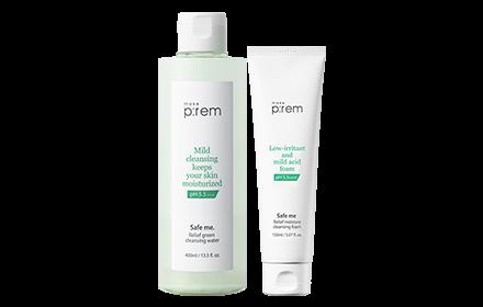 Make P:rem Safe Me Relief Cleansing Set