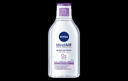 Nivea MicellAIR Skin Breathe Make Up Remover Micellar Water 400ml [#Sensitive Skin]