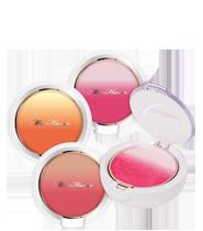 Miss Hana -Apple Cheek Gradation Powder Blush 花娜小姐*渐层腮红饼 7.5g [3 Colors To Choose]