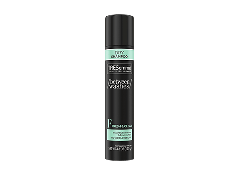 Want second day hair that looks freshly styled? Try TRESemmé Fresh & Clean Dry Shampoo, infused with a unique citrus and a vitamin blend, to keep second-day styles looking and smelling amazing.