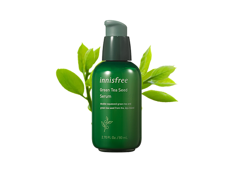 Known as innisfree's No. 1 serum, this 3rd generation serum now has an improved formula with Beauty Green Tea for a clear and dewy looking skin complexion.