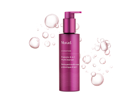 Gel-to-oil, makeup-removing cleanser that nourishes skin with prebiotics.