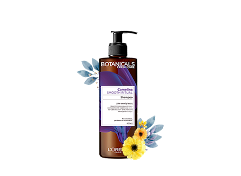 Nourishes & smoothes unruly hair.