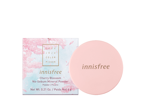 Innisfree Jeju Color Picker Cherry Blossom No-Sebum Mineral Powder