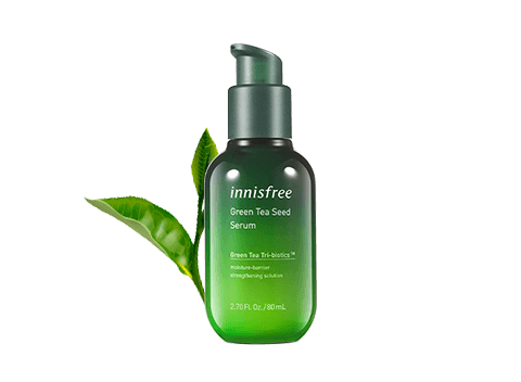 innisfree's No.1 Serum - Green Tea Seed Serum has been upgraded and is now more hydrating than ever!