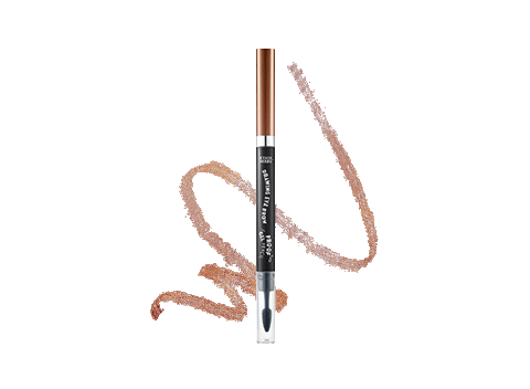 Easy-to-use waterproof eyebrow pencil to create fuller-looking, perfectly defined brows.