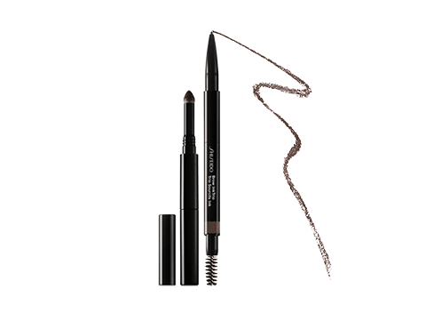 This 3-in-1 tool features a slim, retractable pencil that defines and shapes brows, creating a natural look with ultra-fine hair-like strokes.