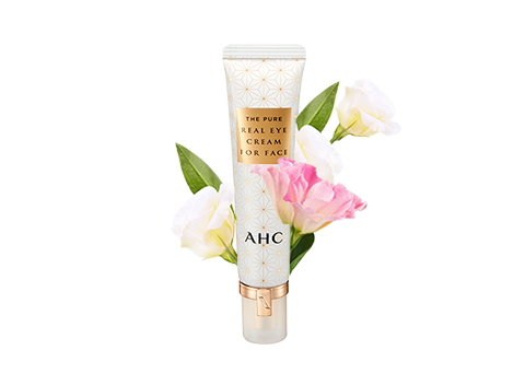 Concentrated anti-ageing solution for use on the face and eye area.