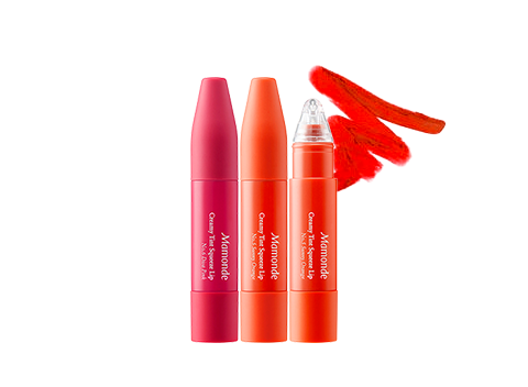 An innovative squeezable tube-type liquid lipstick that gives you high-impact colors